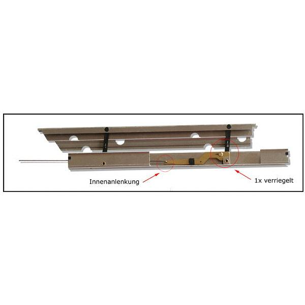 Landeklappen 370 mm Länge