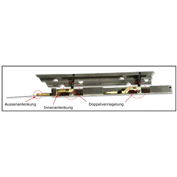 Landeklappen 500 mm Länge